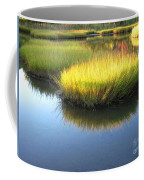 Vibrant Marsh Grasses Coffee Mug