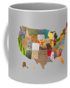 Vibrant Textures Of The United States Coffee Mug