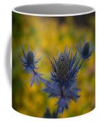 Vibrant Thistles Coffee Mug
