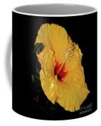 Vibrant Yellow Hibiscus By Kaye Menner Coffee Mug