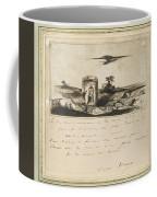 Victor Hugo   Landscape   1837 Coffee Mug