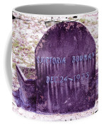Victoria Eternal Sleep Coffee Mug