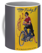 Victoria Vicky Iv - Motorcycle - Vintage Advertising Poster Coffee Mug