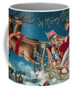 Victorian Christmas Card Coffee Mug