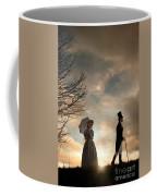 Victorian Couple Parting  Coffee Mug