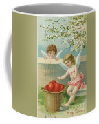 Victorian Era Valentine Card Coffee Mug