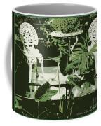 Victorian Garden Poster Coffee Mug