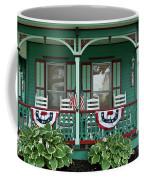 Victorian House And Garden. Coffee Mug