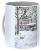 Victorian Snowstorm Coffee Mug