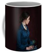 Victorian Woman Portrait In Profile  Coffee Mug