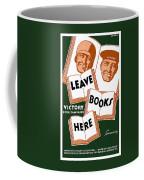 Victory Book Campaign - Wpa Coffee Mug