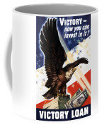 Victory Loan Bald Eagle Coffee Mug