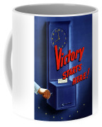 Victory Starts Here Coffee Mug by War Is Hell Store