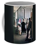 Vienna Fashion Shoot 1968 Coffee Mug