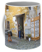 Vienna Girl And Dog Coffee Mug