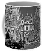 Vienna Scene Coffee Mug by Madeline Ellis