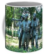 Vietnam War Memorial Statue Coffee Mug