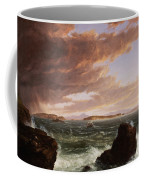 View Across Frenchman's Bay From Mt. Desert Island After A Squall Coffee Mug by Thomas Cole