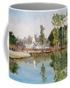 View Across The Pond Coffee Mug