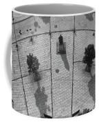 View From A Church Tower Monochrome Coffee Mug