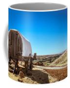 View From A Sheep Herder Wagon Coffee Mug