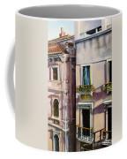 View From A Venetian Window Coffee Mug