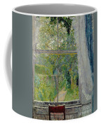 View From A Window Coffee Mug by Spencer Frederick Gore