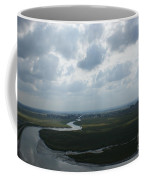 View From Abbey On Mont St. Michel Coffee Mug