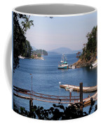 View From Buchart Gardens Coffee Mug