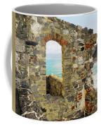 View From Doria Castle In Portovenere Italy Coffee Mug