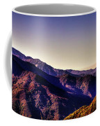 View From Eleven Ranges Overlook Coffee Mug