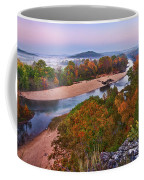 View From Greens Cave Bluff Coffee Mug