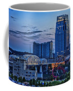 View From Lp Field Coffee Mug