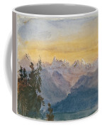 View From Mount Pilatus Coffee Mug