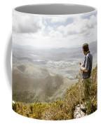 View From Mt Zeehan Tasmania Coffee Mug