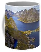 View From Reinebringen Coffee Mug