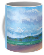 View From Sandy Bay Exmouth Coffee Mug