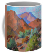 View From Santa Rosa - San Jacinto Visitor Center Coffee Mug