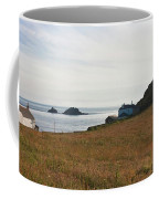 View From St Helen's Oratory Cape Cornwall Coffee Mug