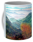 View From The Autumnal Belchen   Coffee Mug