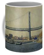 View From The Battleship Coffee Mug by Trish Tritz