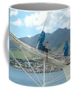 St. Kitts From The Bow Coffee Mug