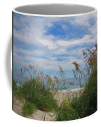 View From The Outer Banks Dunes Coffee Mug