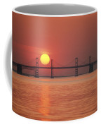 View From The Water Of The Chesapeake Coffee Mug by Kenneth Garrett