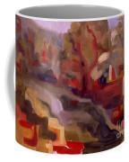 View From Vermont Bridge Coffee Mug