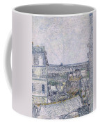 View From Vincent's Room In The Rue Lepic Coffee Mug