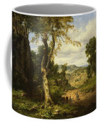 View In Berkshire County, Massachusetts, Clearing Off After A September Storm Coffee Mug