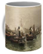 View Of A Dutch Harbour Coffee Mug
