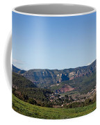 View Of A Village In Valley, Santa Coffee Mug