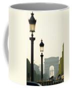 View Of Arc De Triomphe Coffee Mug